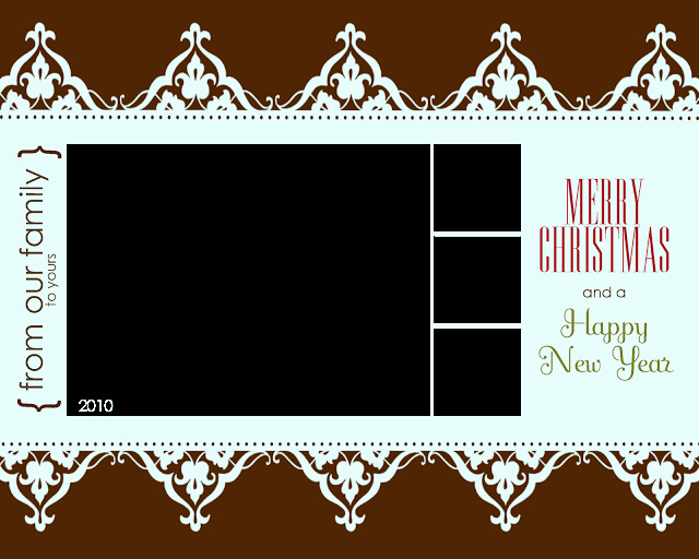 Free Printable Postcard Templates Awesome Free Printable Christmas Card Templates – Allcrafts Free