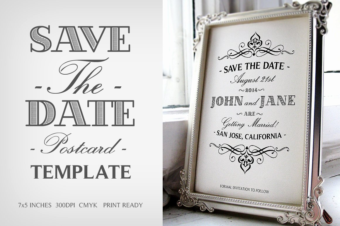 Free Printable Postcard Templates Beautiful Save the Date Postcard Template V 1 Wedding Templates