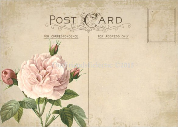 Free Printable Postcard Templates Lovely 34 Blank Postcard Templates Psd Vector Eps Ai