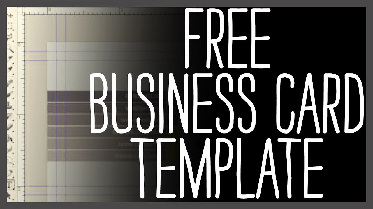 Free Printable Postcard Templates New Free Business Card Template Shop