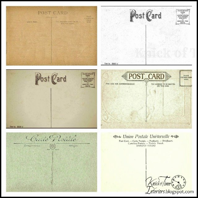 Free Printable Postcard Templates New Free Printable Vintage Postcard Pretty