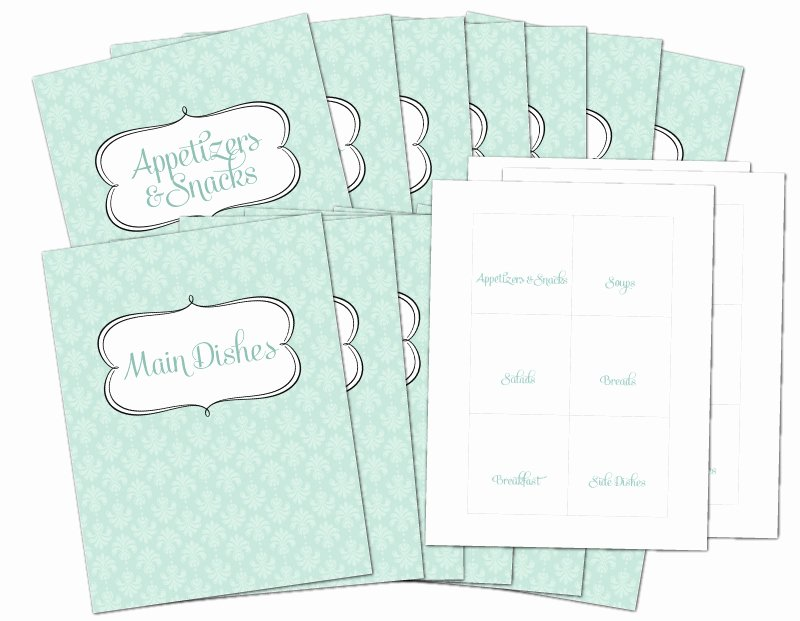Free Printable Recipe Pages Awesome Free Recipe Binder In 3 Color Options