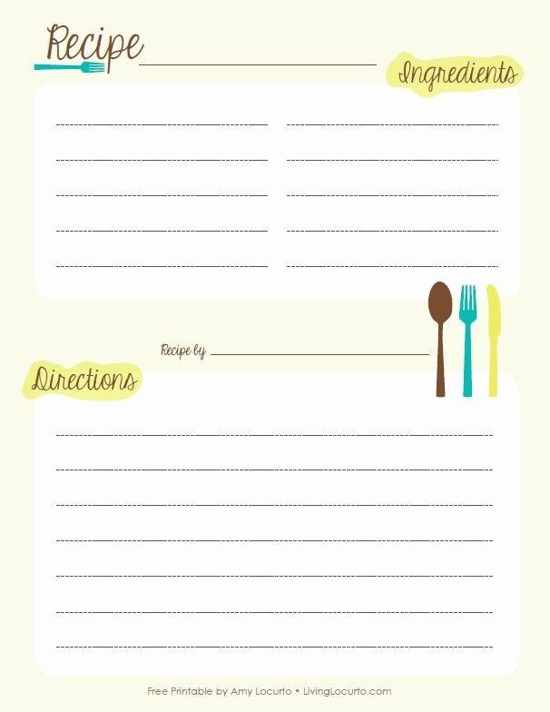 Free Printable Recipe Pages Best Of 40 Best Images About Free Printable Recipe Pages On
