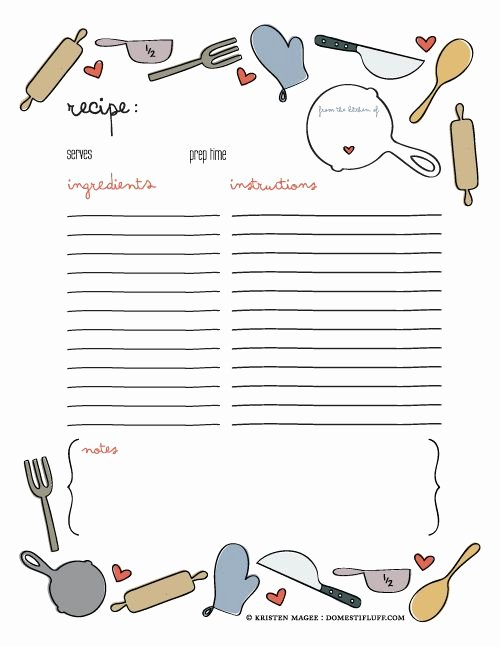 Free Printable Recipe Pages Best Of Best 25 Recipe Templates Ideas On Pinterest