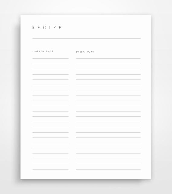 Free Printable Recipe Pages Lovely Recipe Pages Recipe Binder Pages Printable Recipes Recipe