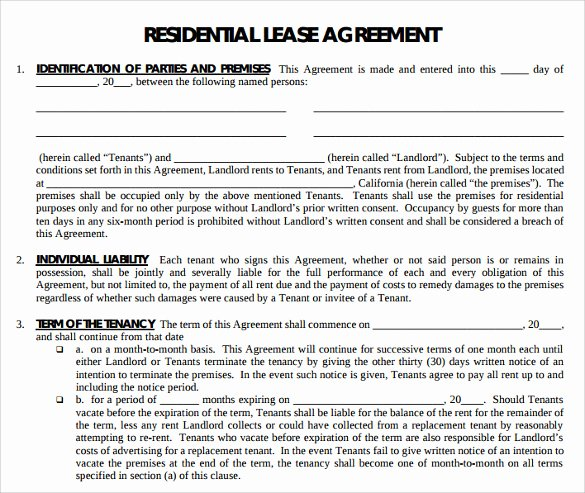 Free Printable Rental Agreement Fresh Free Printable Lease Agreement Colorado