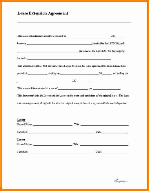 Free Printable Rental Agreement Lovely Blank Lease Agreement