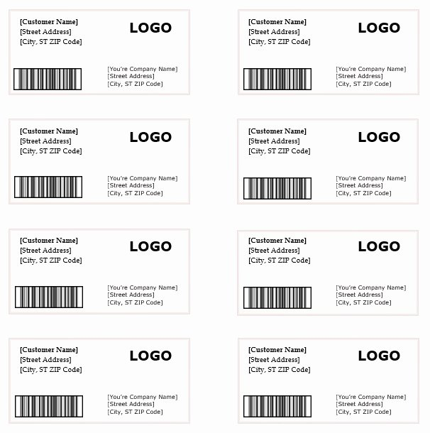 Free Printable Shipping Label Template Best Of 10 Shipping Label Templates