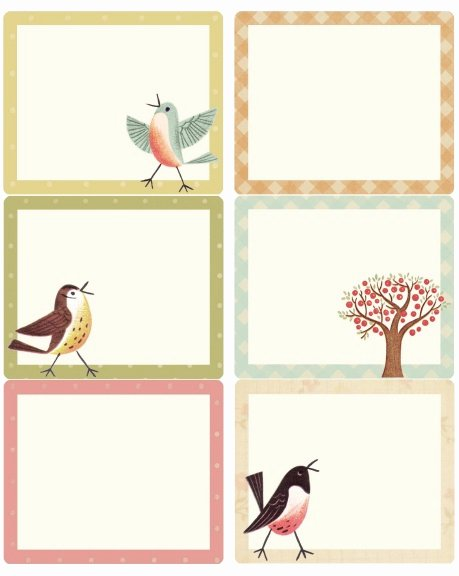 Free Printable Shipping Label Template Elegant Free Printable Bird Labels