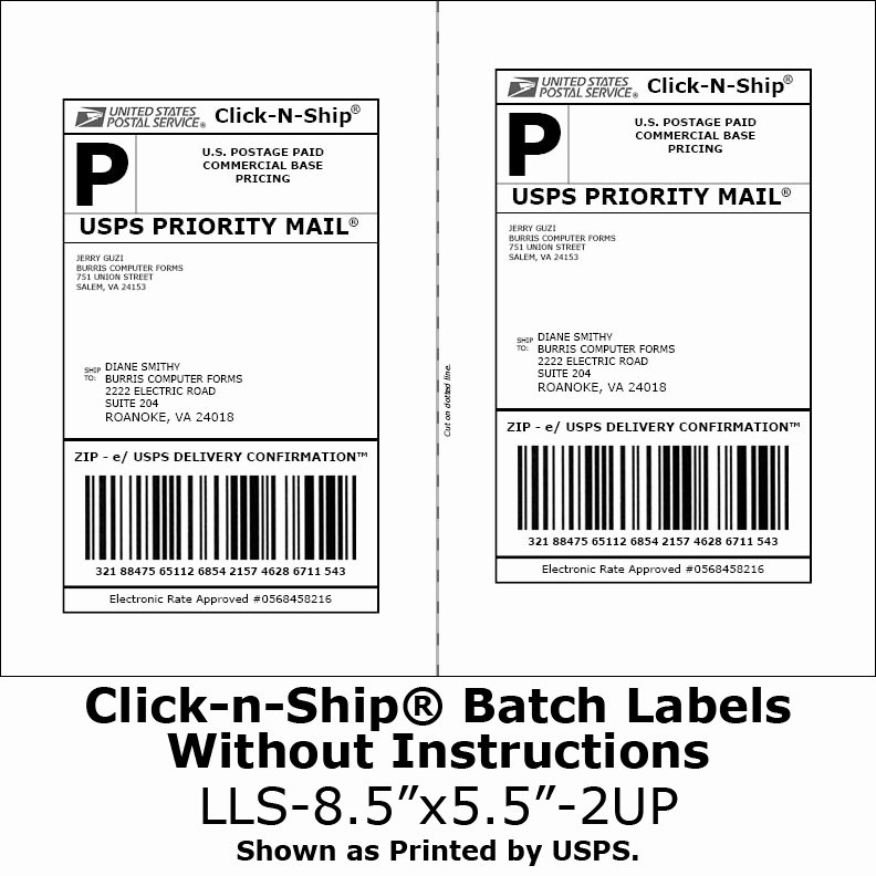 Free Printable Shipping Label Template Unique why Can T I Tape Over the Barcode On My Usps Shipping Label
