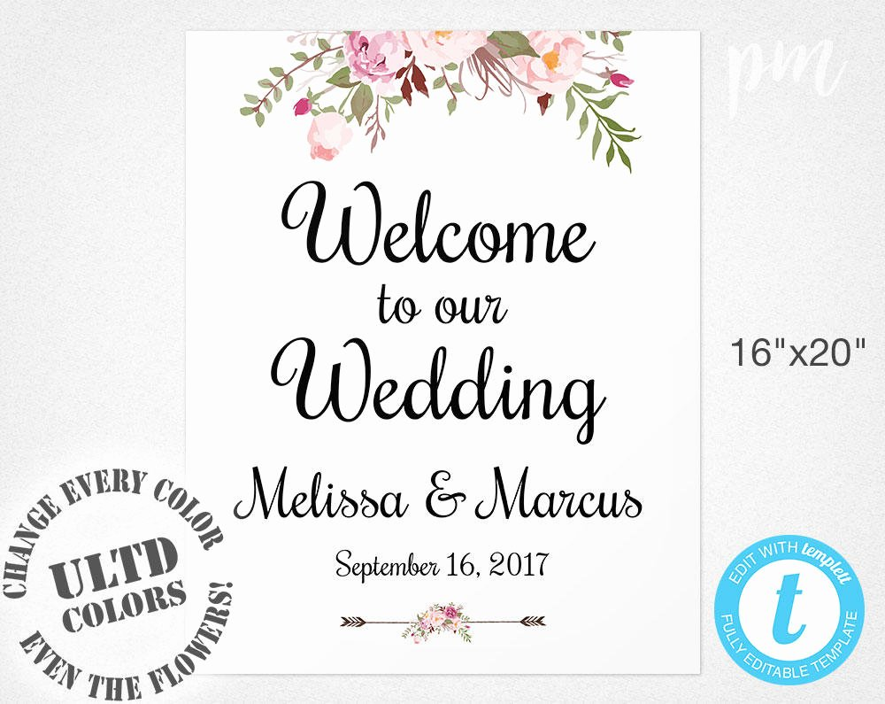 Free Printable Sign Templates Unique Wel E Wedding Sign Template Wedding Wel E Sign Wel E