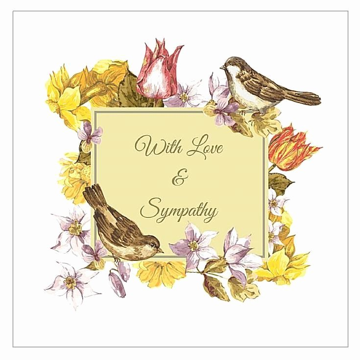 Free Printable Sympathy Cards Lovely 11 Free Printable Sympathy Cards for Any Loss