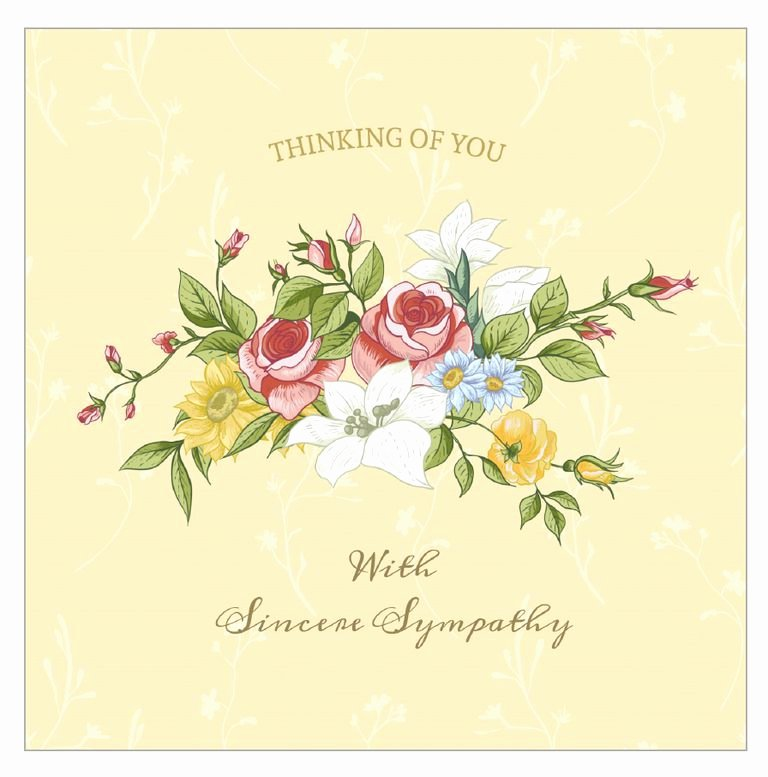 Free Printable Sympathy Cards Luxury 7 Free Printable Condolence and Sympathy Cards