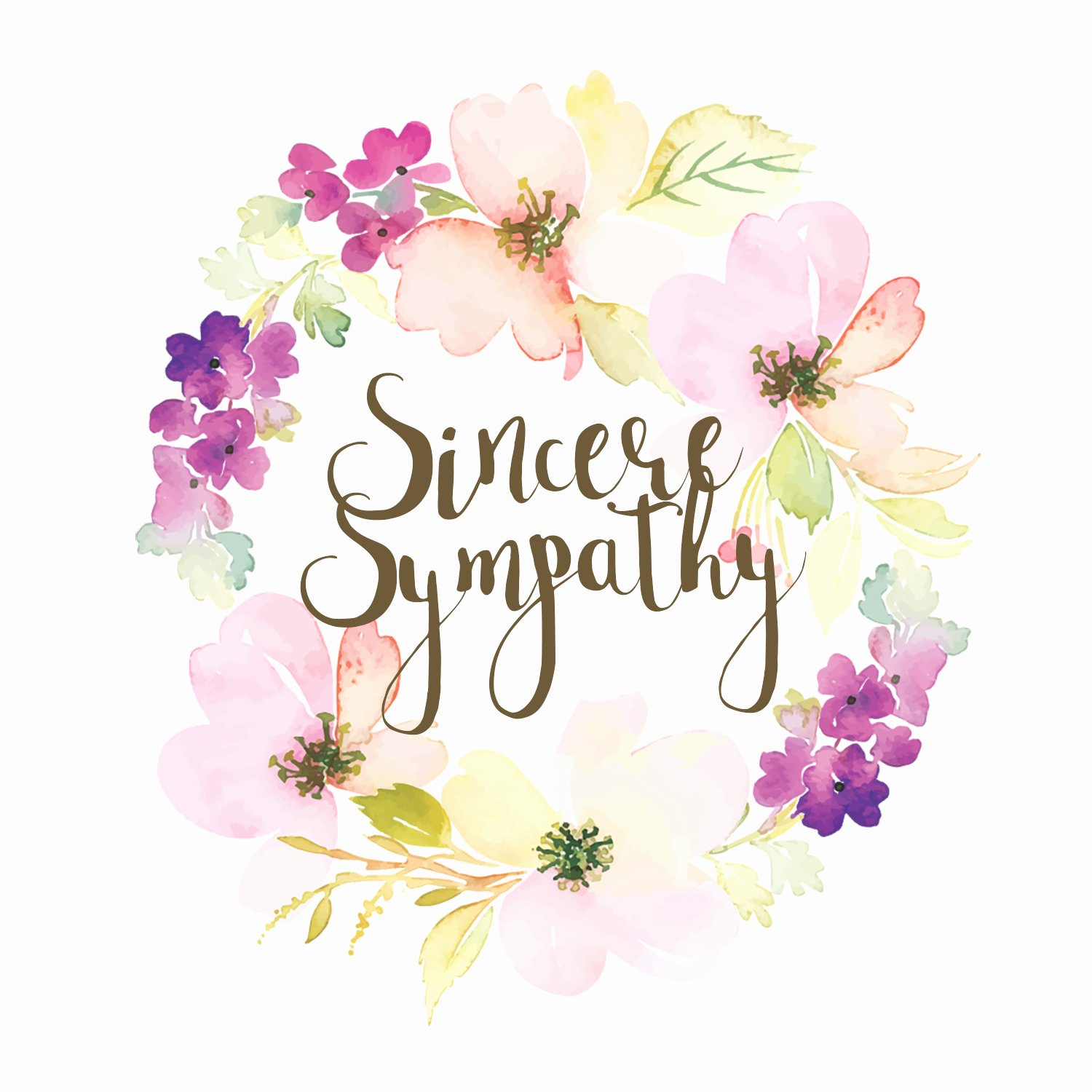 Free Printable Sympathy Cards New Loved and Missed Sympathy & Condolences Card Free