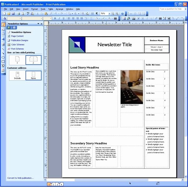 Free Publisher Newsletter Templates Best Of Dynamic Reusable Newsletter Template Defined