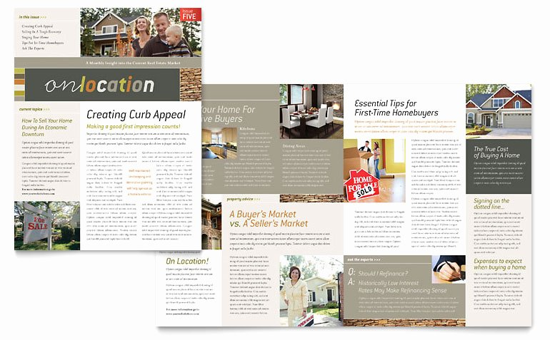 Free Publisher Newsletter Templates Elegant Free Newsletter Template Word & Publisher Templates