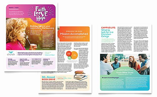 Free Publisher Newsletter Templates Unique Free Newsletter Template Word & Publisher Templates