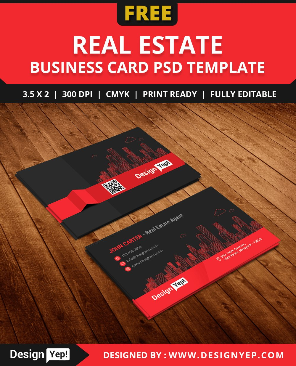 Free Real Estate Templates Best Of 10 Best Free Name Card Design Template Psd Designyep