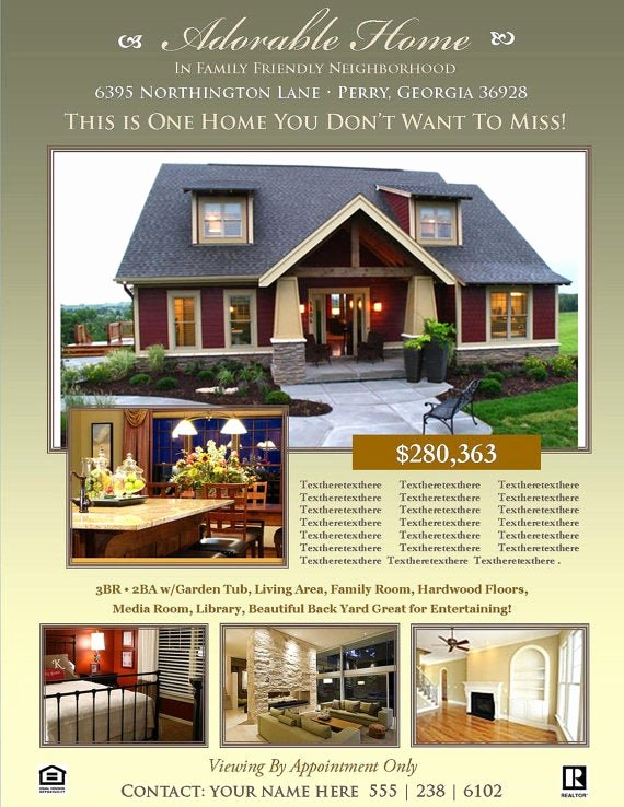 Free Real Estate Templates Elegant Microsoft Real Estate Flyer Templates Download Free Apps