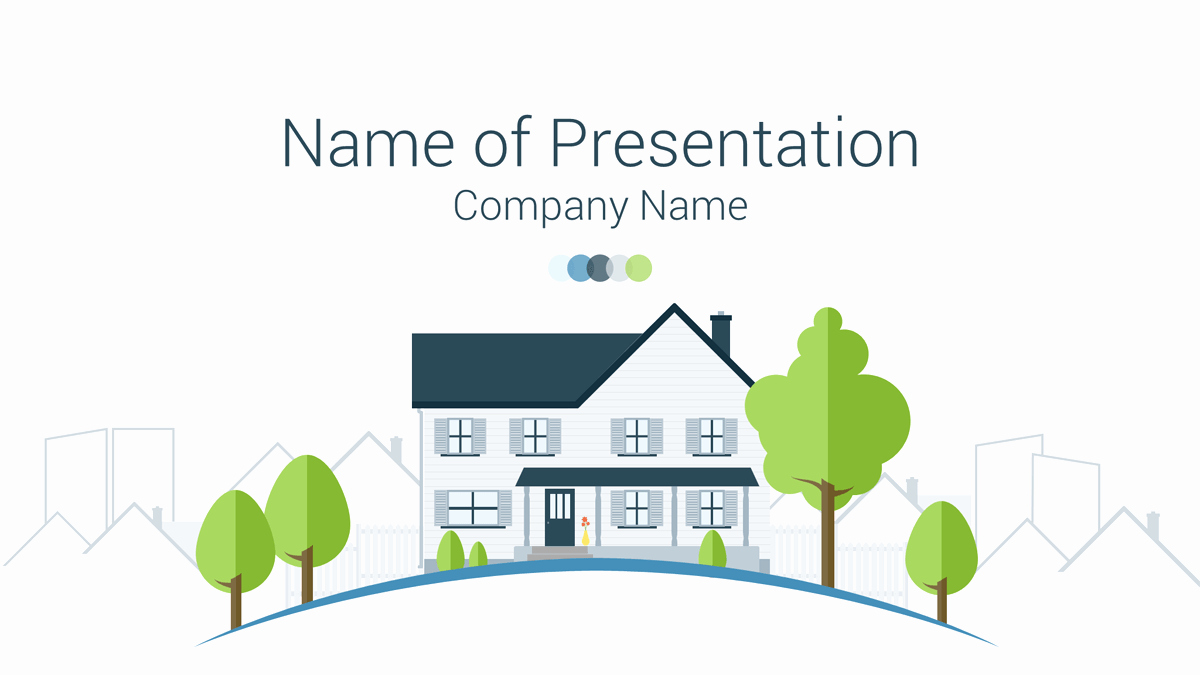 Free Real Estate Templates Inspirational Real Estate Powerpoint Template Presentationdeck