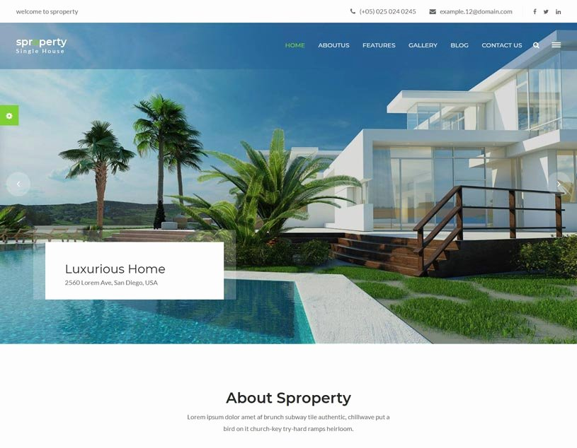 Free Real Estate Templates Luxury 58 Best Real Estate Website Templates Free & Premium