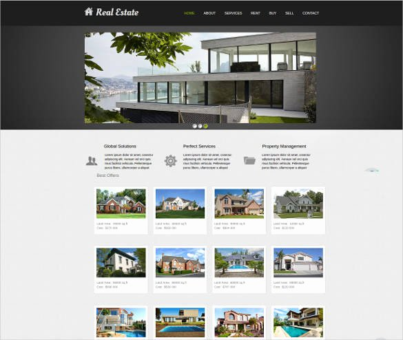 Free Real Estate Templates New 33 Real Estate Website themes & Templates