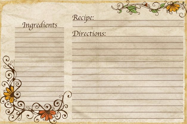 Free Recipe Card Templates Lovely Aletheia Free Recipe Cards Made by Yours Truly