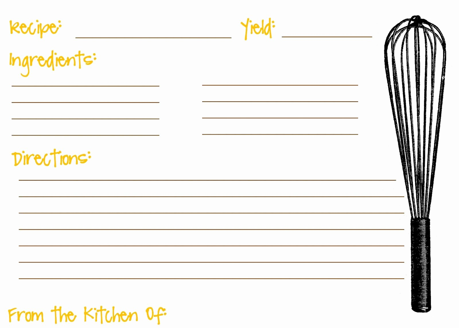 Free Recipe Card Templates Unique Scooter Cakes Free Printable Recipe Cards
