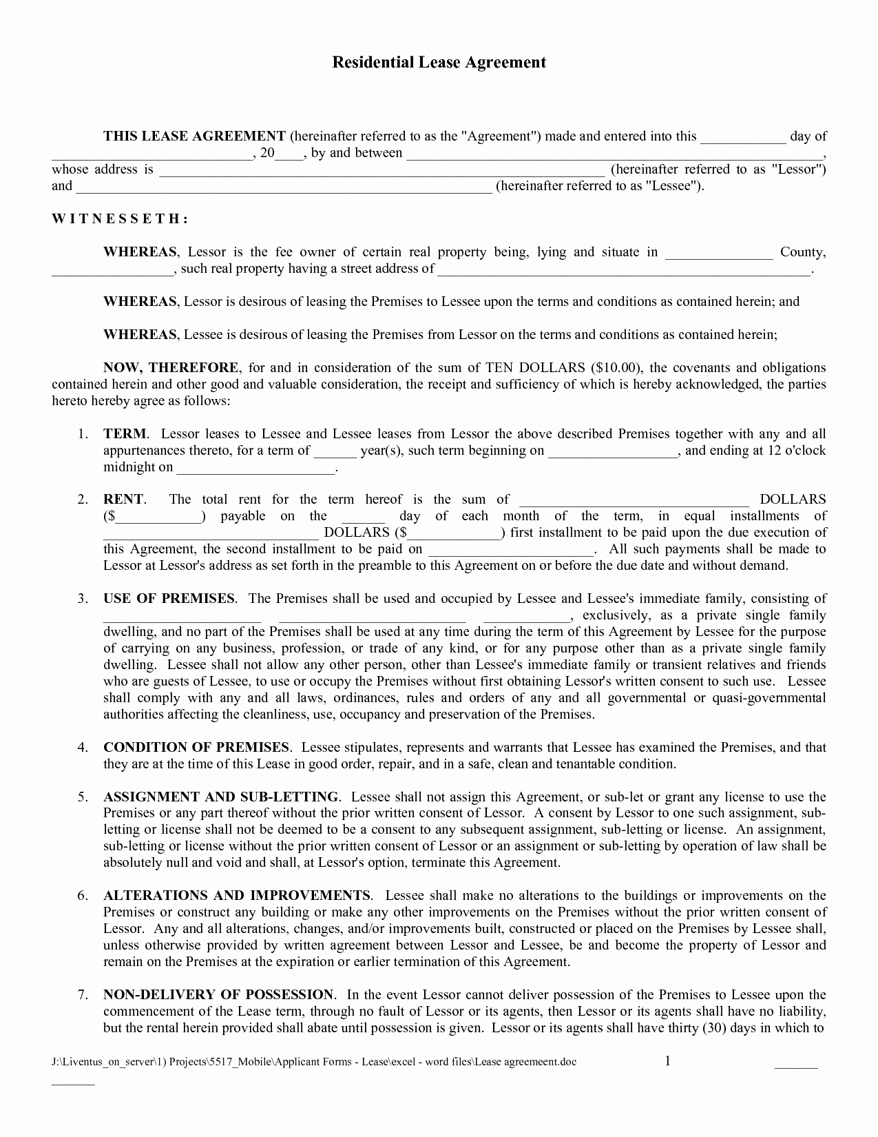 Free Rental Agreement Template Awesome Free Copy Rental Lease Agreement