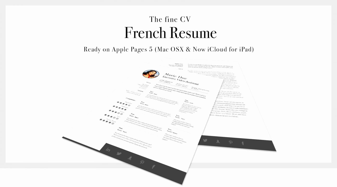 Free Resume Templates for Mac Beautiful Free Resume Templates for Mac Os X