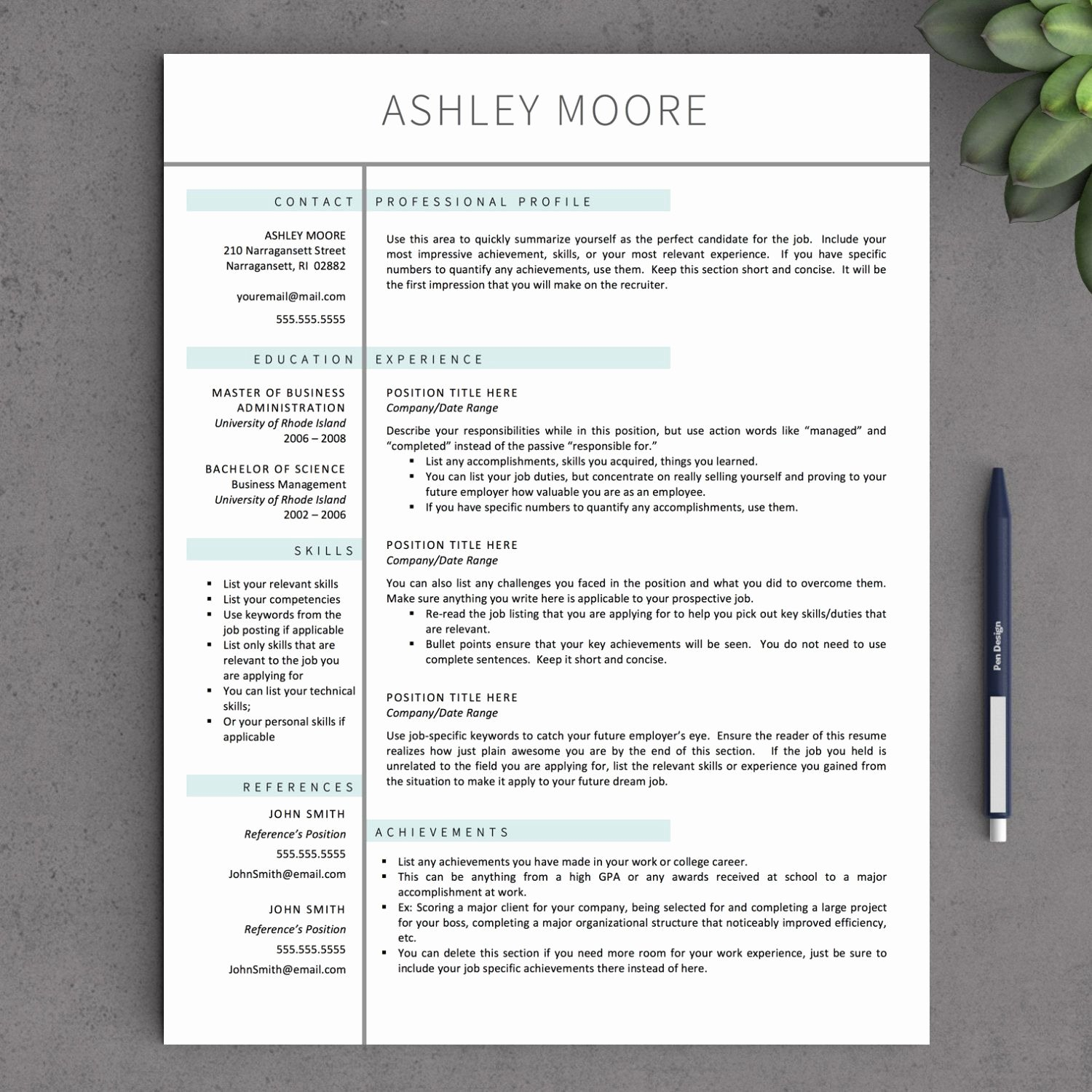 Free Resume Templates for Mac Elegant Apple Pages Resume Template Download Apple Pages Resume