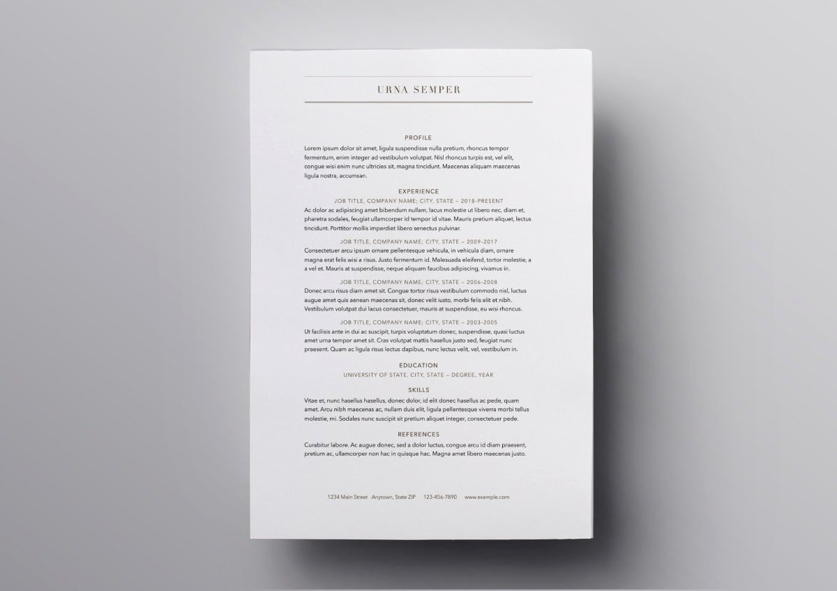 Free Resume Templates for Mac New Pages Resume Templates 10 Free Resume Templates for Mac