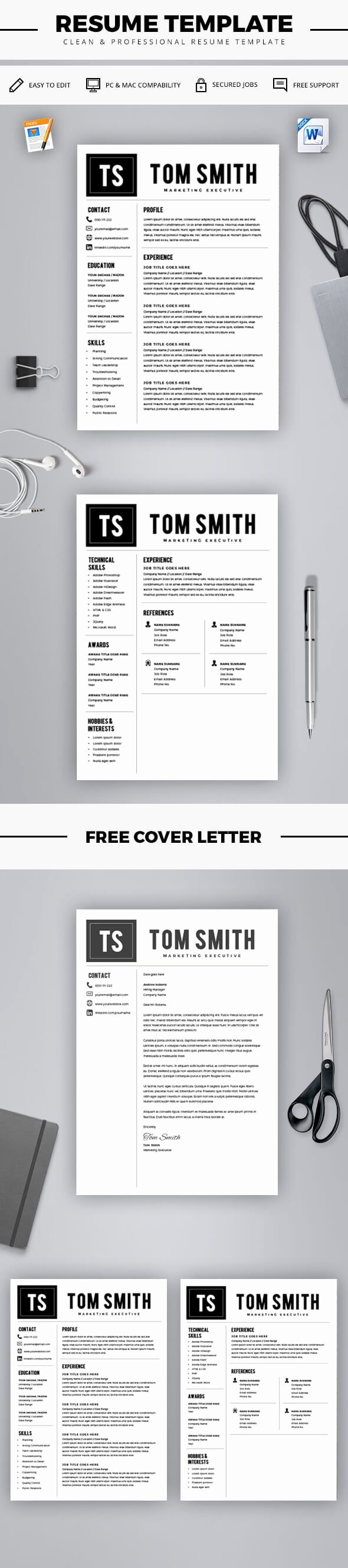 Free Resume Templates for Mac Unique 25 Best Ideas About Resume Template Free On Pinterest