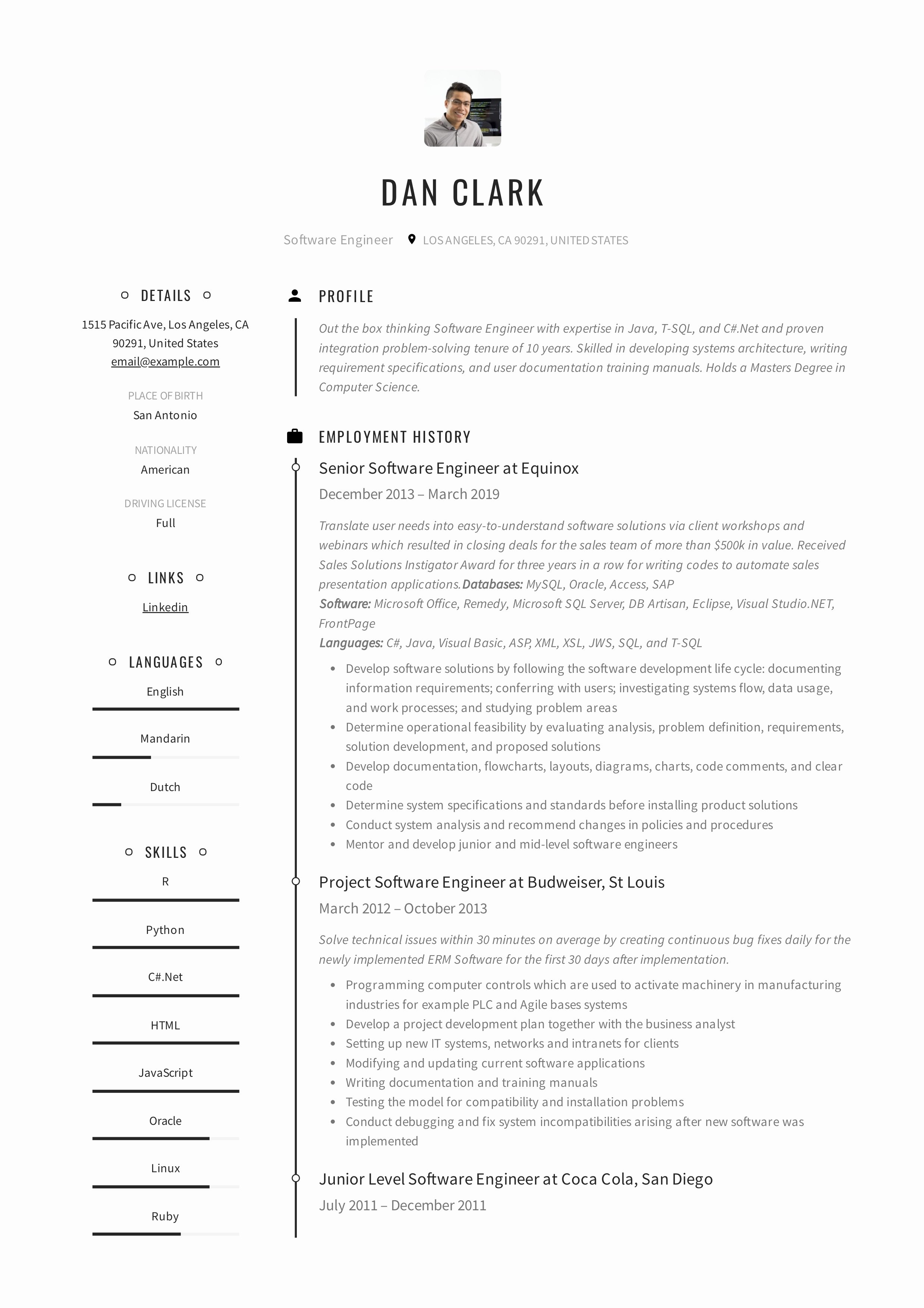 Free Resume Templates Pdf Awesome Resume Templates [2019] Pdf and Word