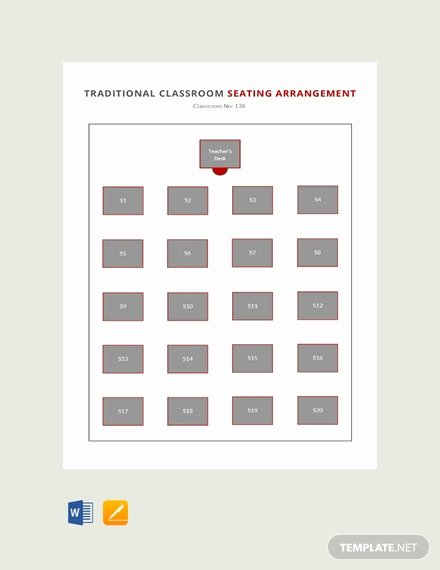 Free Seating Chart Template Best Of 26 Free Seating Chart Templates Pdf Word