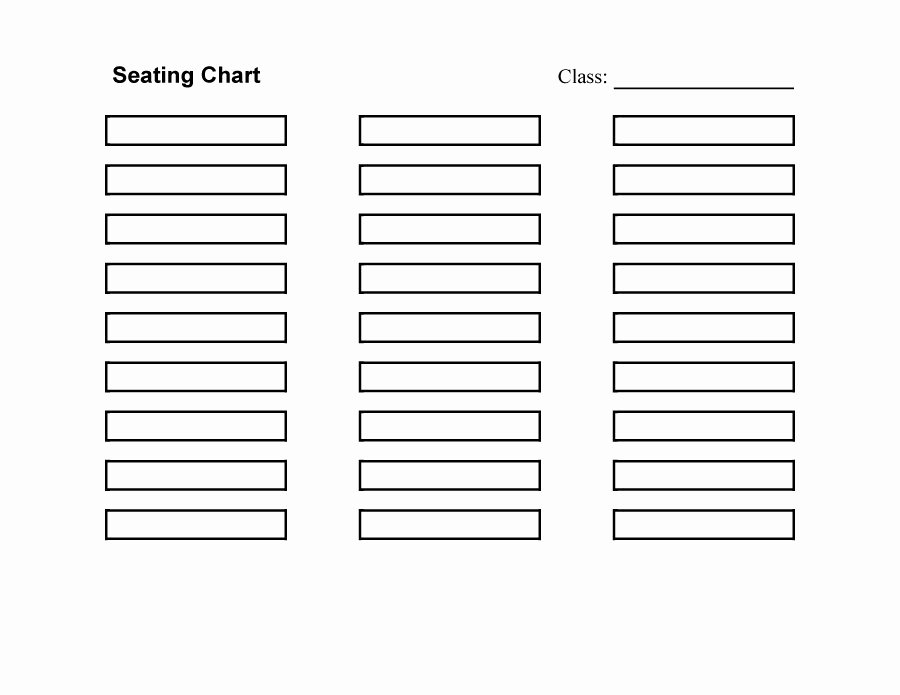 Free Seating Chart Template Elegant 40 Great Seating Chart Templates Wedding Classroom More