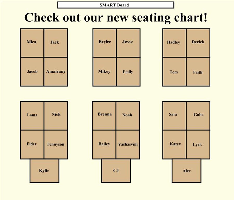 Free Seating Chart Template Inspirational 40 Great Seating Chart Templates Wedding Classroom More