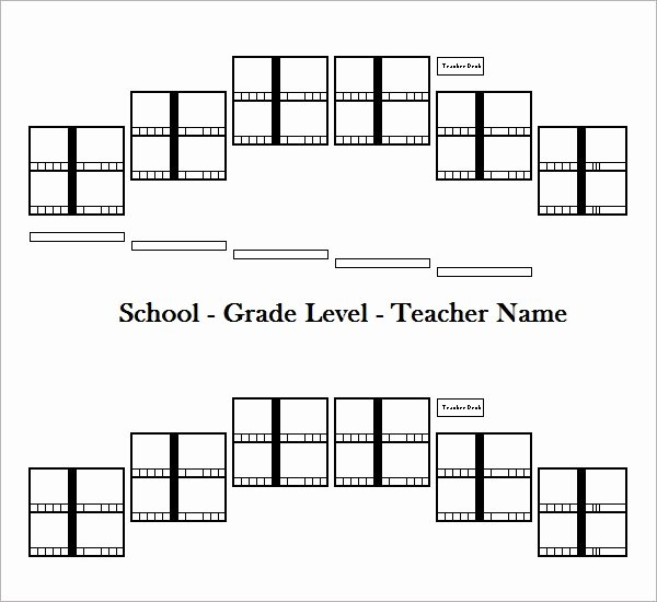 Free Seating Chart Template Luxury Sample Seating Chart Template 16 Free Documents In Pdf