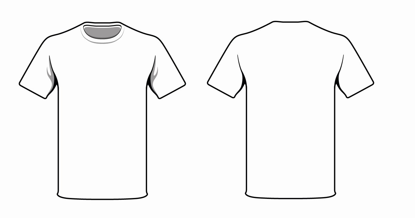 Free T Shirt Template Best Of Tee Shirts Outline