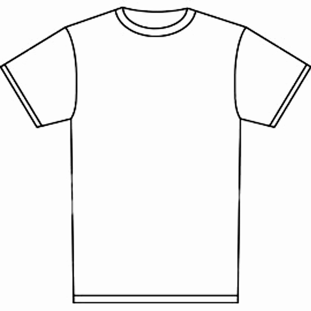 Free T Shirt Template Inspirational Free T Shirt Template Printable Download Free Clip Art