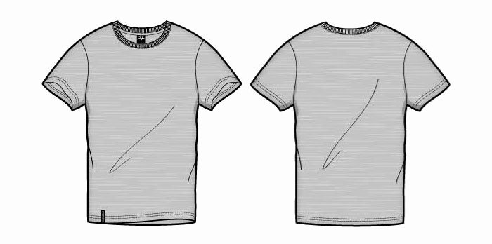 Free T Shirt Template Lovely 41 Blank T Shirt Vector Templates Free to Download