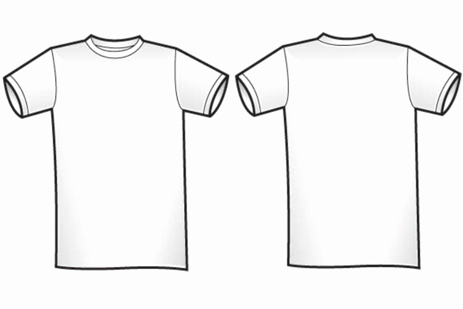 Free T Shirt Template New Free Blank T Shirt Outline Download Free Clip Art Free