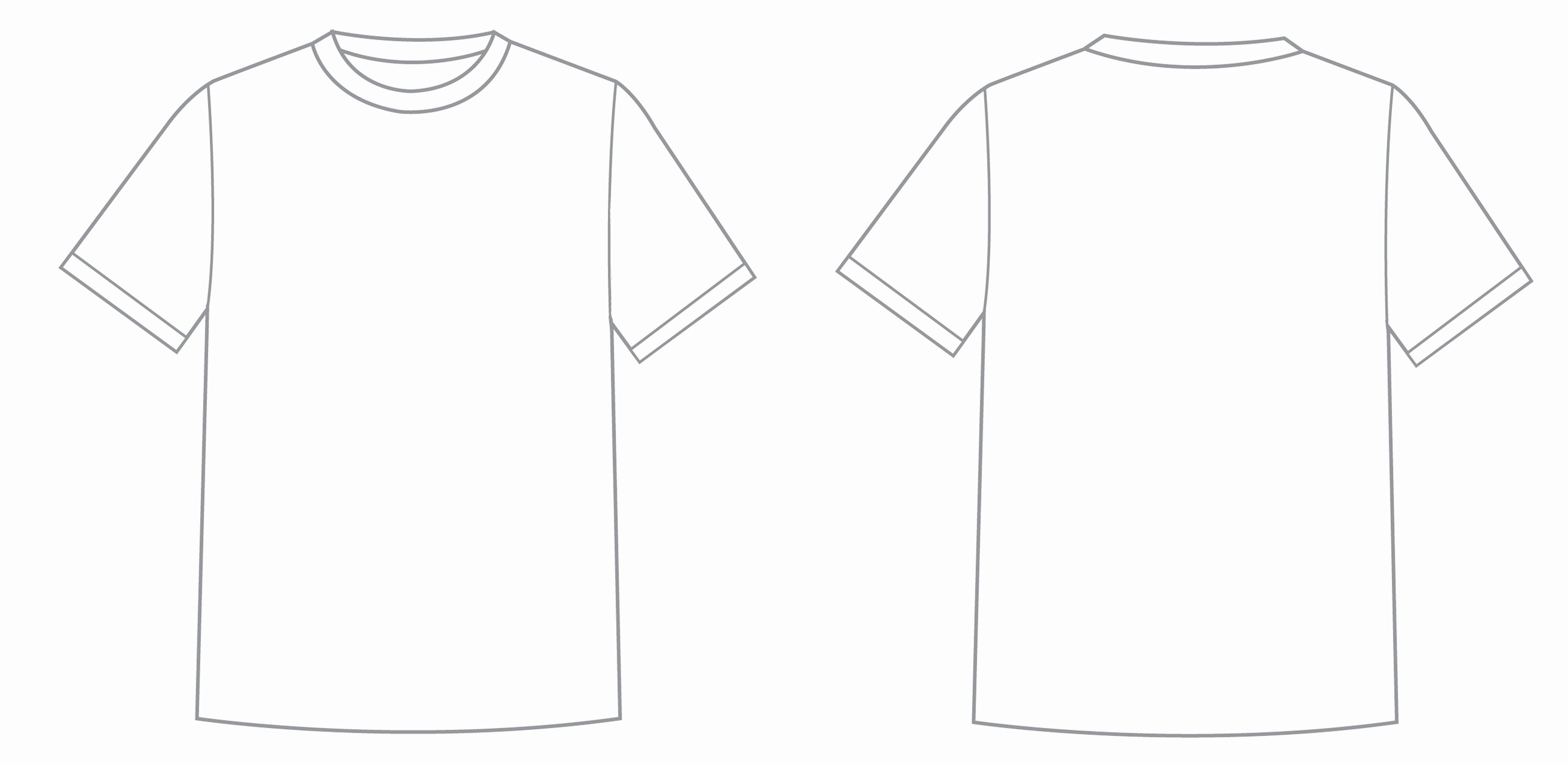 Free T Shirt Template New What is T Shirt Template