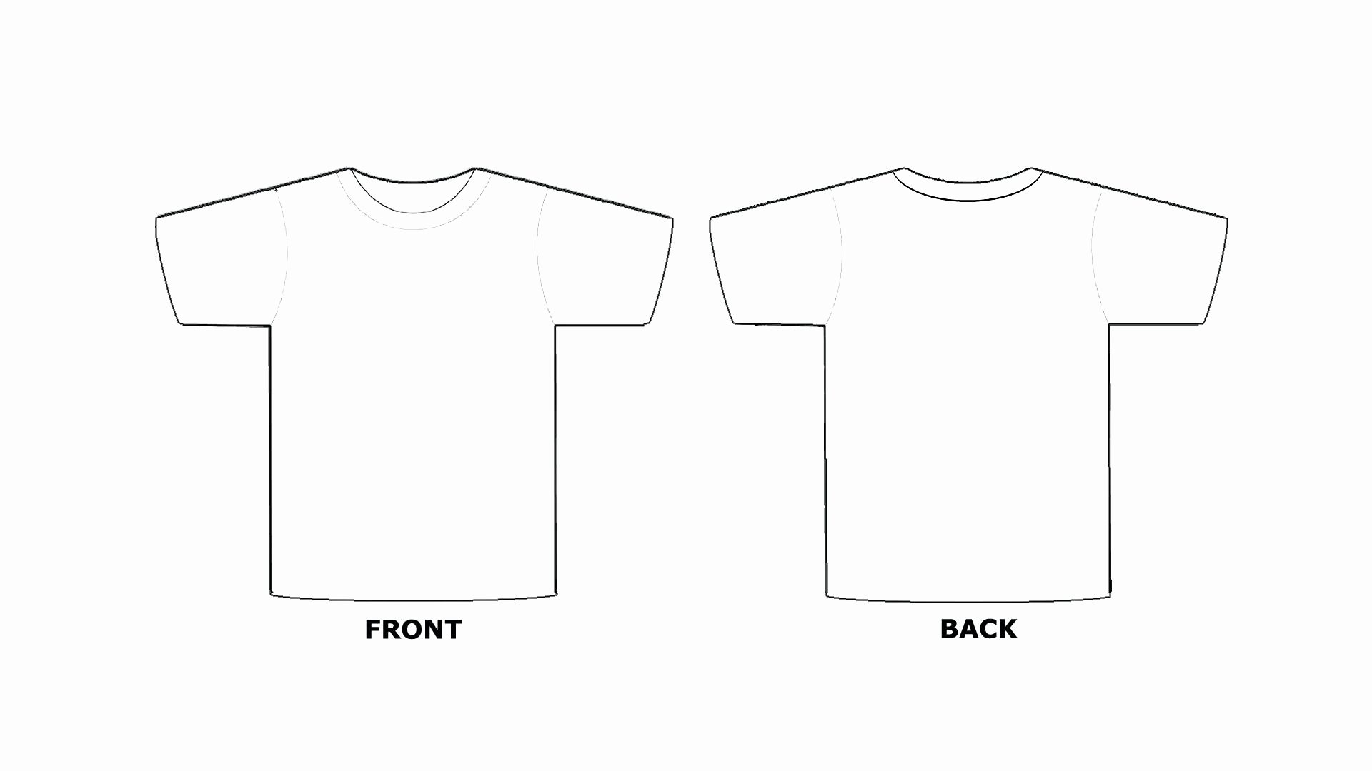 Free T Shirt Template Unique Blank Tee Shirt Template – Emmamcintyrephotography