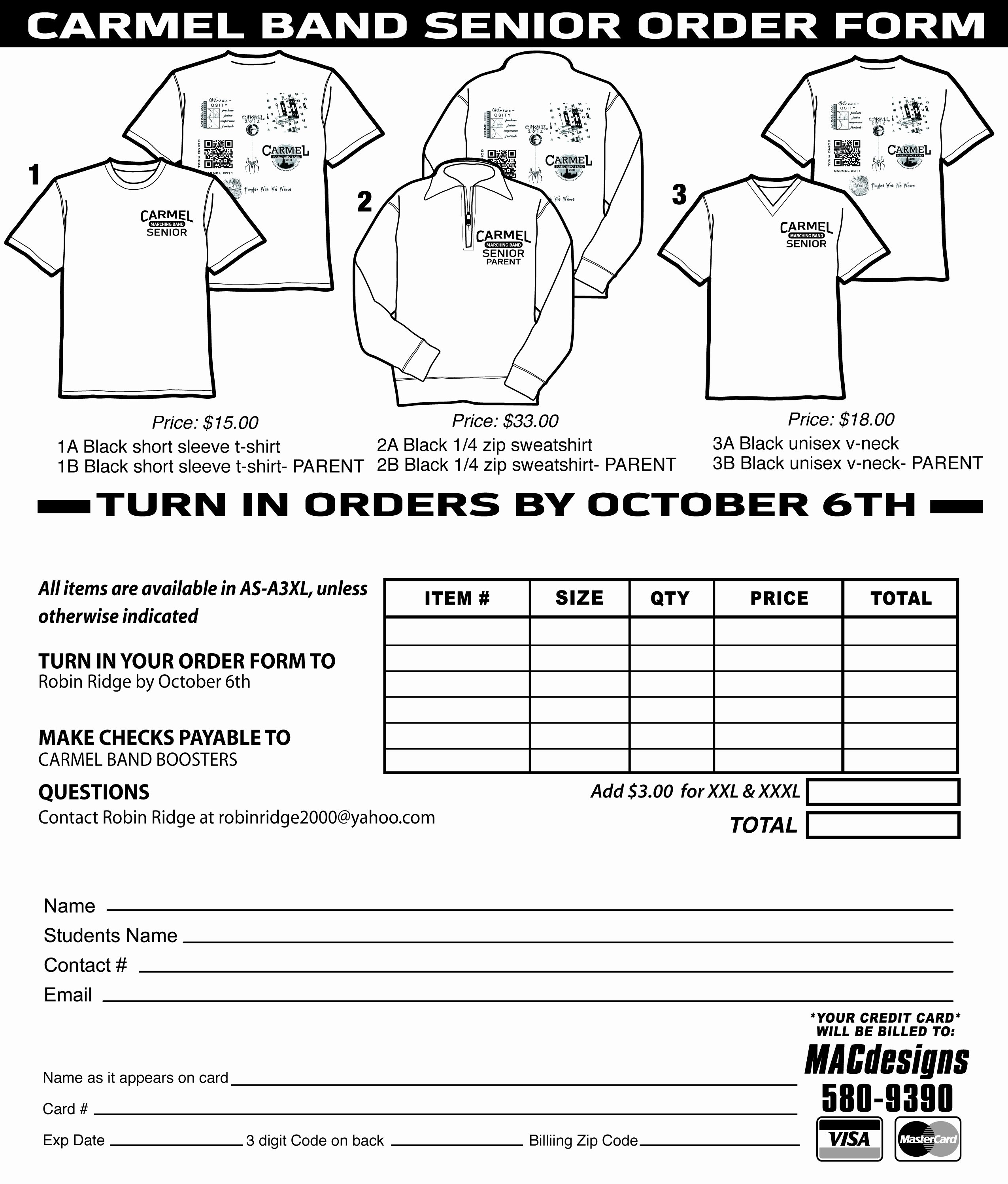 Free T Shirt Template Unique T Shirt order form Template