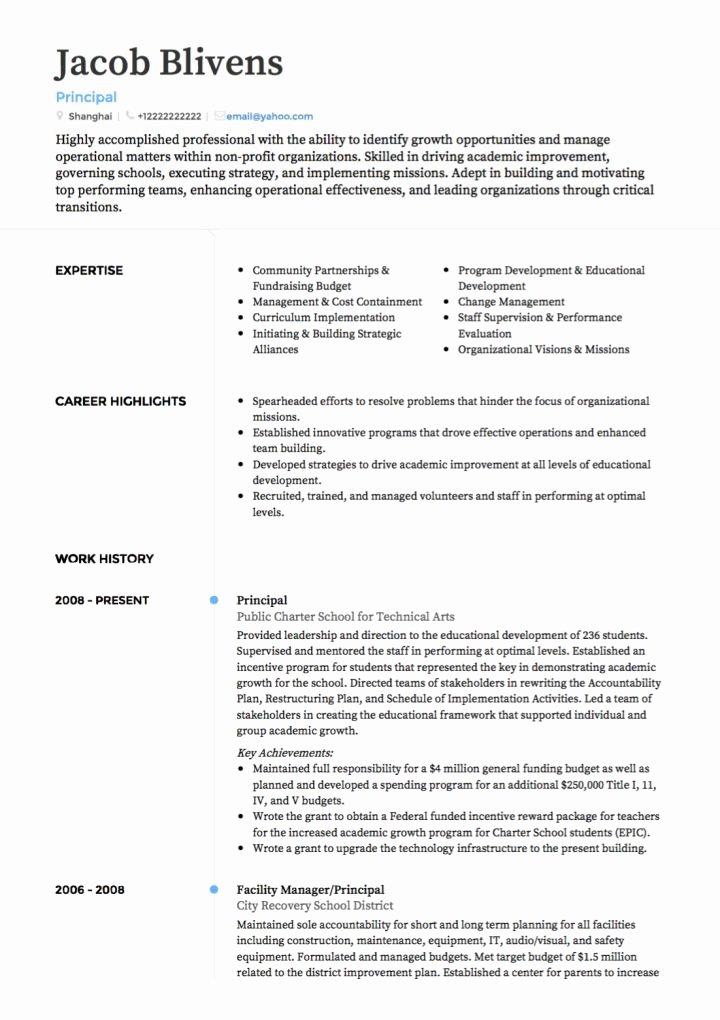 Free Teacher Resume Templates Unique Teacher Cv Examples & Templates