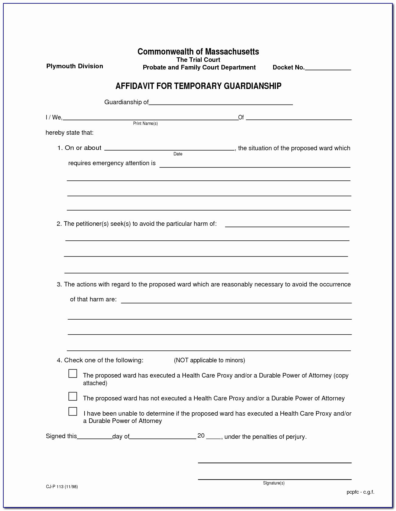 Free Temporary Guardianship form Fresh Best S Temporary Guardianship form Florida Free