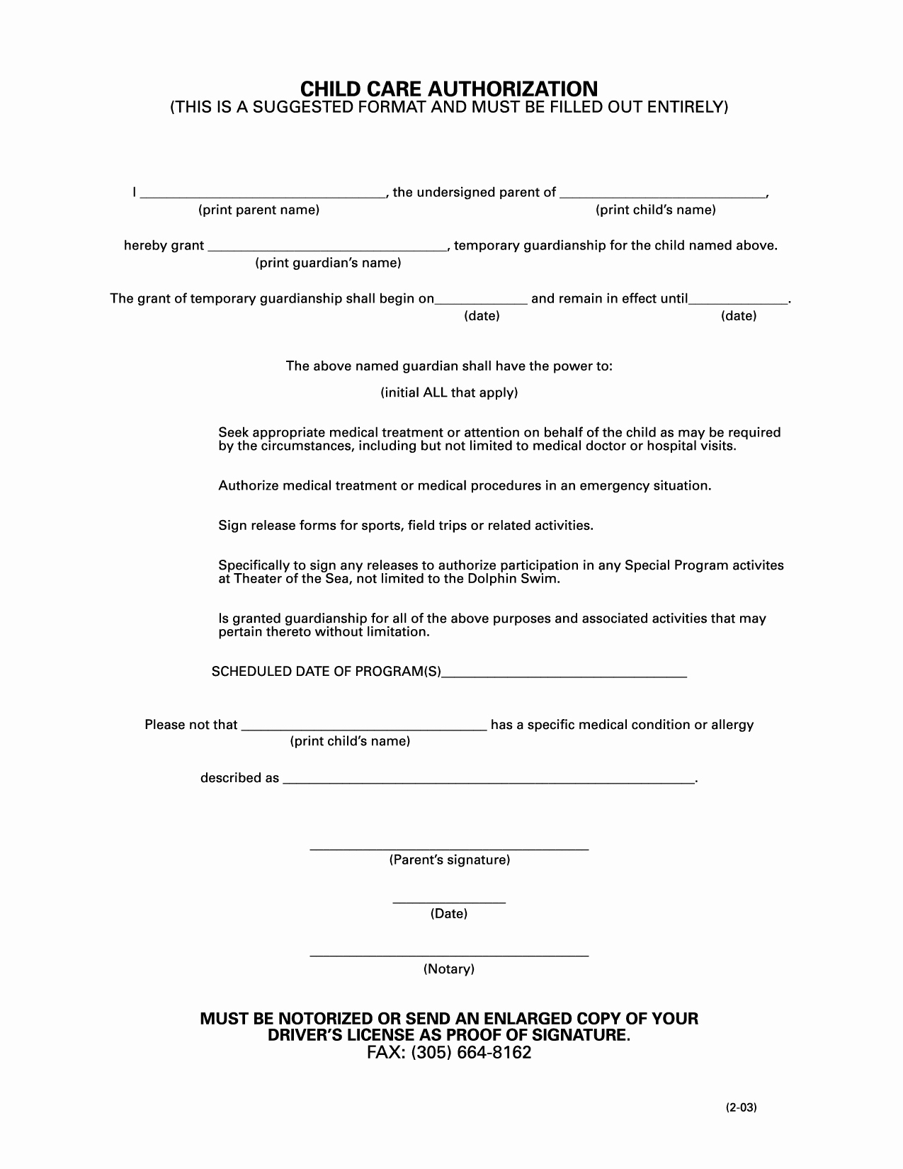Free Temporary Guardianship form Luxury Best S Of Letter Authorizing Guardianship From Doctor