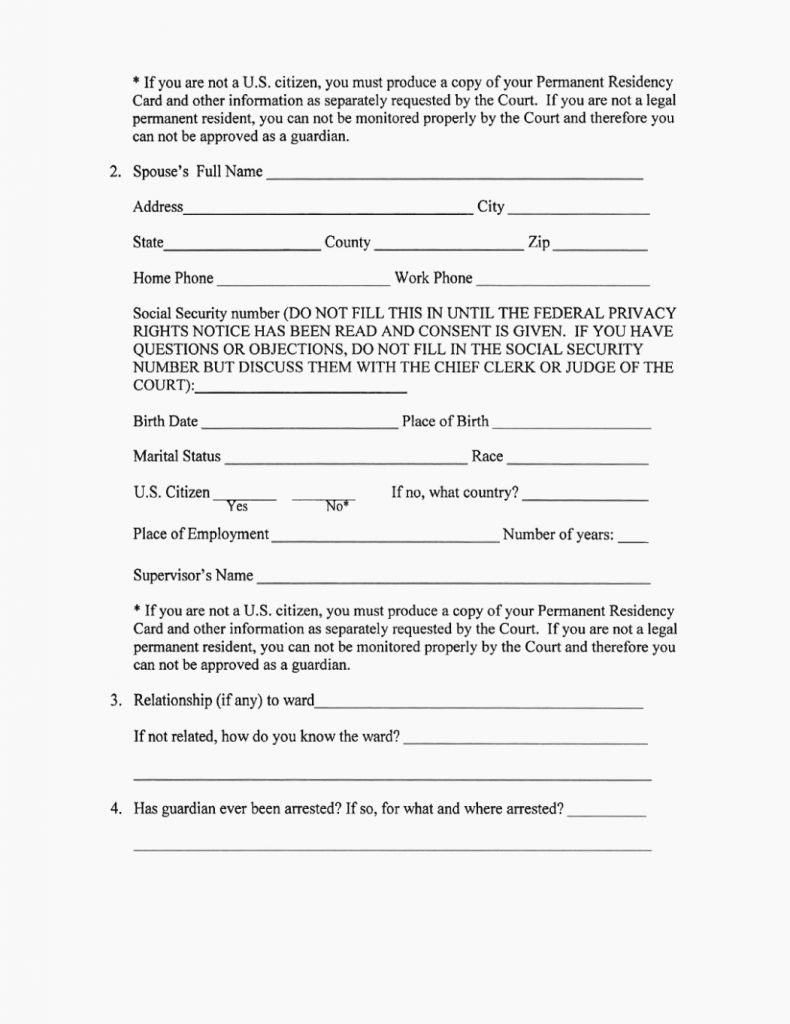 Free Temporary Guardianship form Luxury Legal Guardianship forms Free Printable Temporary form