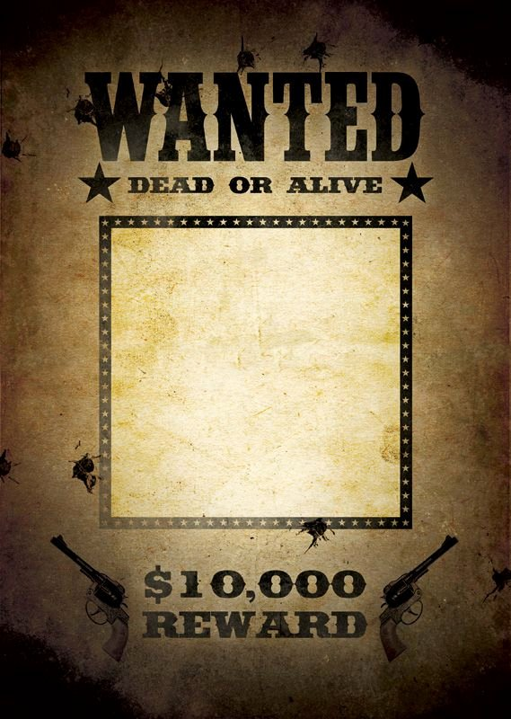 Free Wanted Poster Template Awesome What are You Hunting for Wanted Poster Template Create